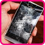 My phone screen cracked prank