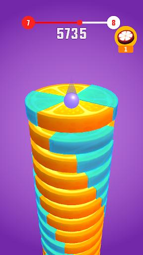 Stack Ball - Fruit Crush screenshot 2