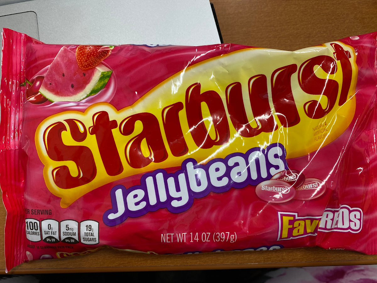 Fave Reds Jellybeans