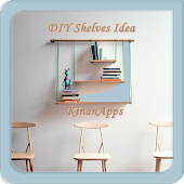 DIY Shelves Design Idea