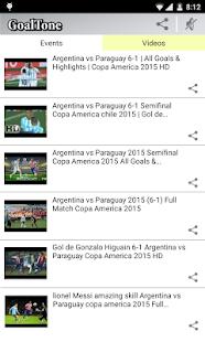 GoalTone: Live Soccer Results- screenshot thumbnail