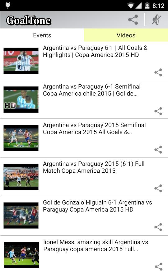 GoalTone: Live Soccer Results- screenshot