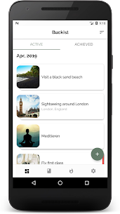 Buckist – Best Bucket List App 2.5.4 Mod + Data Download 1