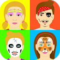 Face Painting 1-2-3 icon