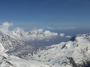 Photo: Teamflug mit DR in Italien