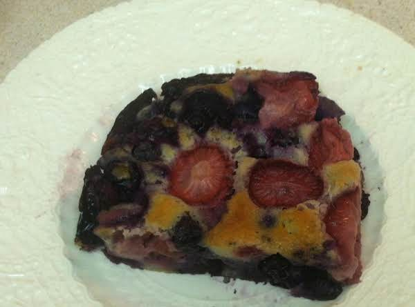 Lite Berry Bake Recipe