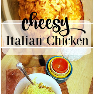 Slow Cooker Cheesy Italian Chicken