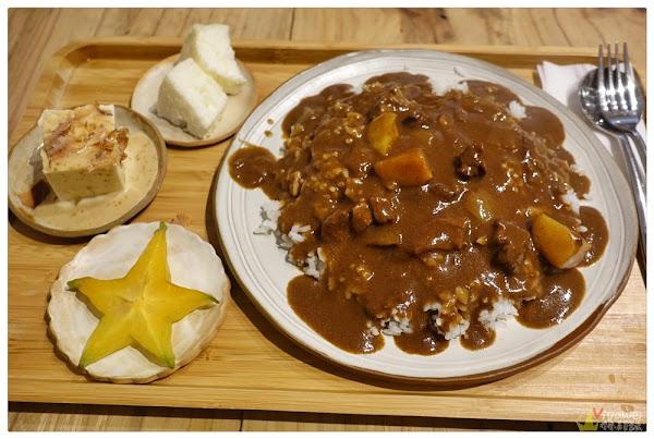 Poffee Canteen(桃園中壢)-乾燥花點綴!有好吃的下午茶和特色黑咖哩飯!