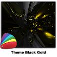 Theme - Black Gold apk