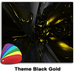 Theme - Black Gold Icon