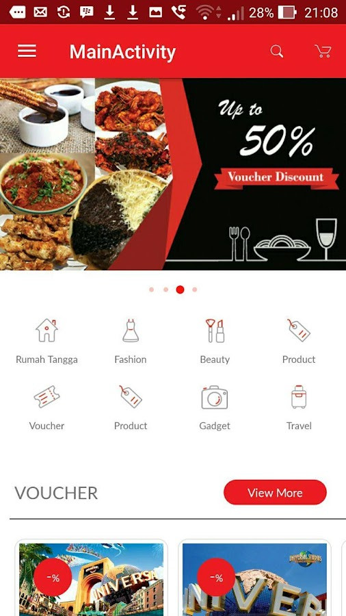 EVoucher Diskon & Daily Deal- screenshot