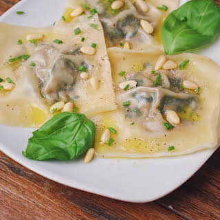 Vegetarian Mushroom Wonton Recipes.