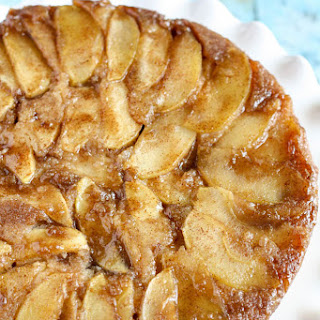 Caramel Apple Upside-Down Cake.