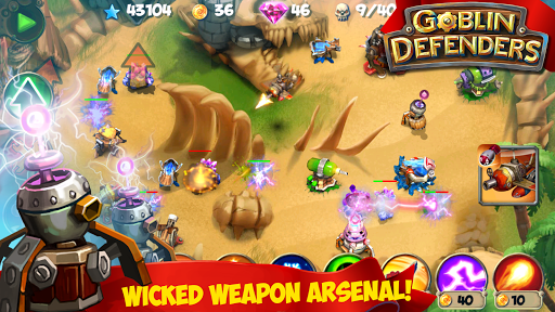 TD: Goblin Defenders - Towers Rush 1.2 screenshots 3