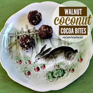 Walnut Coconut Cocoa Bites Recipe
