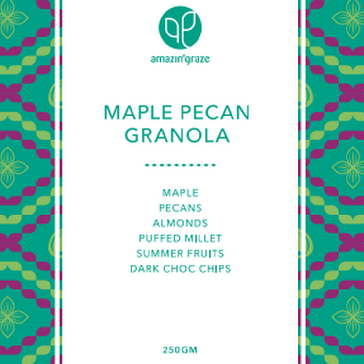Maple Pecan Granola (250g)