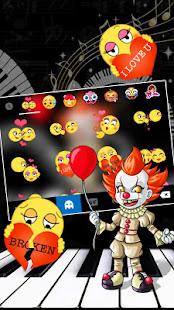 Scary Piano Clown Keyboard