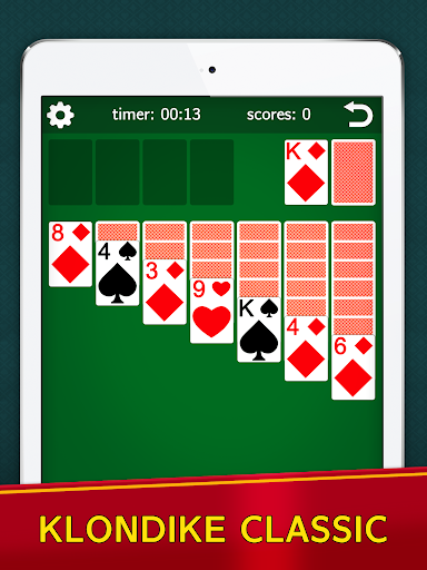 Classic Solitaire Klondike - No Ads! Totally Free! 2.05 screenshots 5