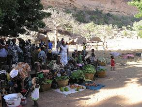 Photo: bazar warzywny w okolicach wsi Yala Talu