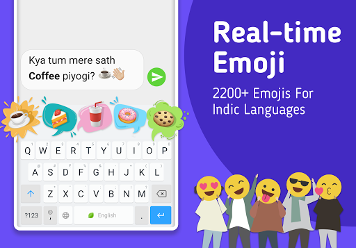 Mint Keyboard - Stickers, Font & Themes 1.07.12.000 Screenshots 4