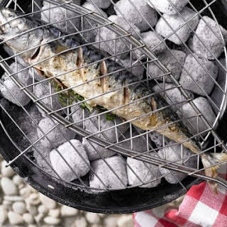Grilled Mackerel with Herbs.