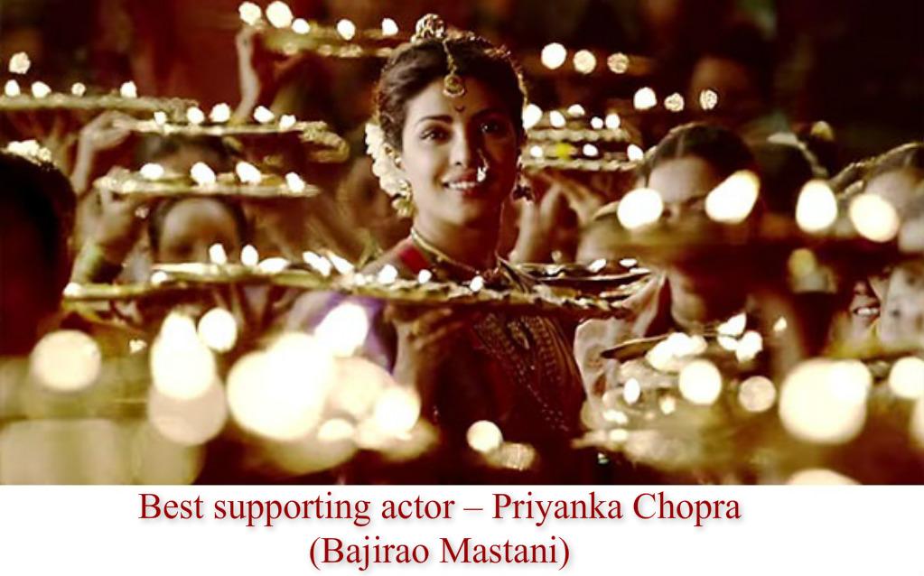 Best Supporting Actress- Priyanka Chopra
