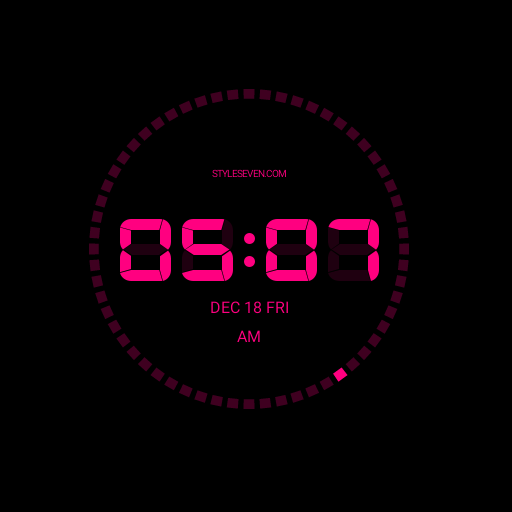Digital Clock AW-7 PRO Apps for Android