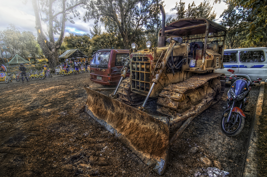 Bulldozer by Eshwer Gonzales - Products & Objects Industrial Objects