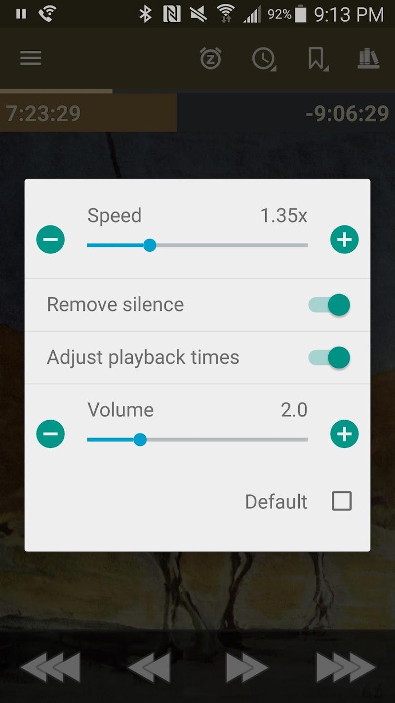 Listen Audiobook Player Screenshot 1