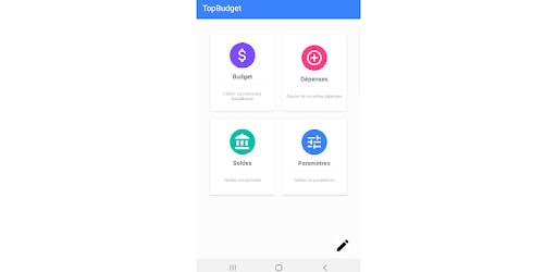 TopBudget is a budget management application