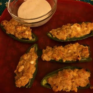 Four Cheese Stuffed Jalapenos.