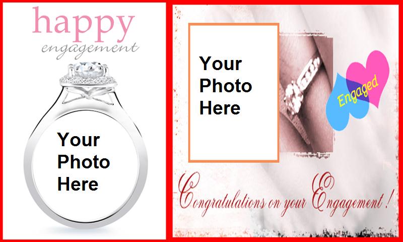 engagement cards frames screenshot - Engagement Photo Frames