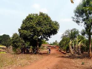 Photo: Arrivée à Gbongbonhoué, typique village du Mono