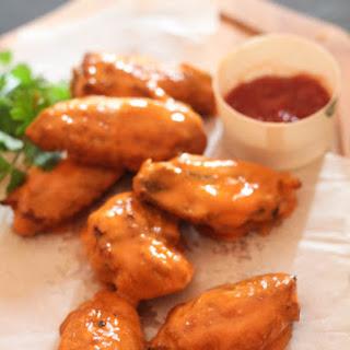 Buffalo Sauce Chicken Wings.