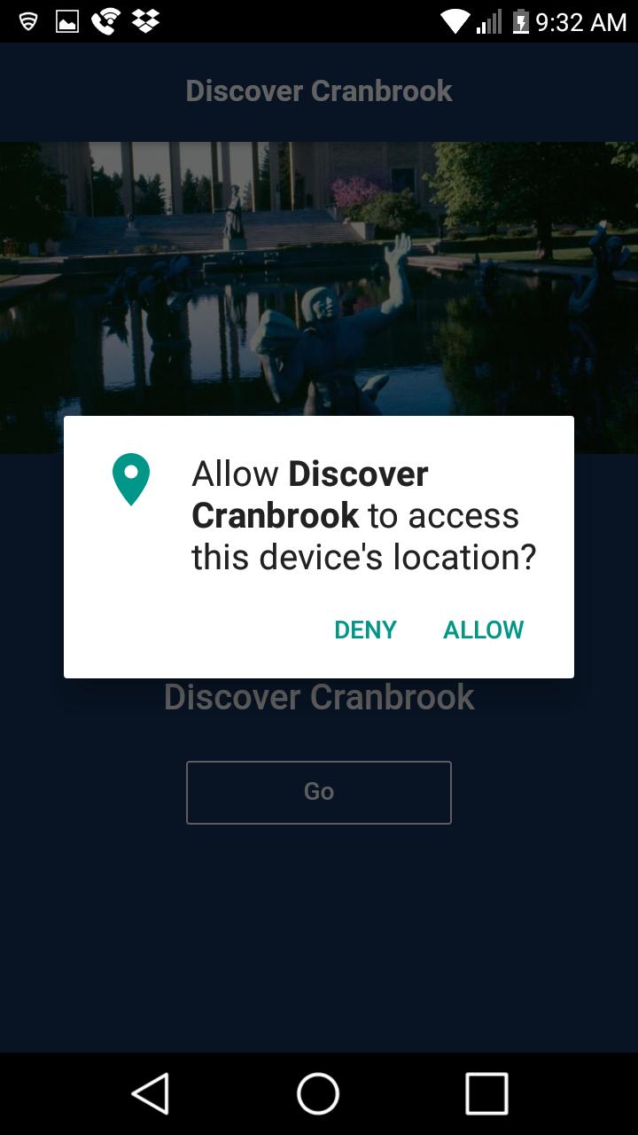 Скриншот Discover Cranbrook