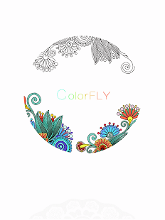 colorfly coloring games screenshot thumbnail