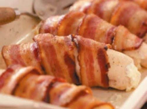 Chicken Roll Ups With Bacon
