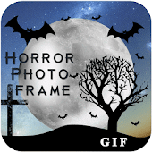 Horror Gif Photo Frame Editor