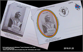 "Photo: 2016.01.25 - carti postale expuse la Biblioteca ""Teodor Murasanu"""