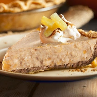 Pumpkin Pineapple Mousse Pie