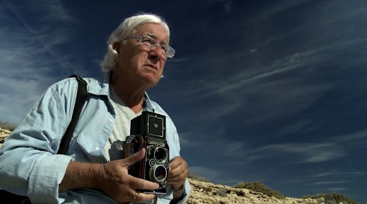 Pérez Siquier, en una imagen promocional del documental.