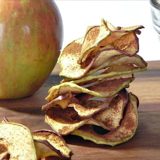 Cinnamon Apple Chips (in the dehydrator)