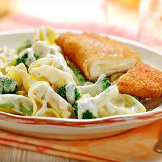 Broccoli Met Tortellini In Lente Ui-knoflooksaus