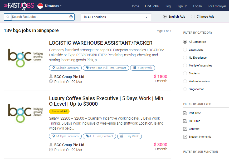 10 Websites Singaporeans Should Use to Search for Jobs in Singapore