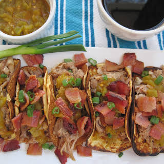 Boneless Pork Short Rib Breakfast Tacos.