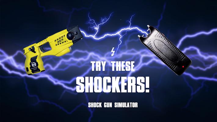 Shock gun simulator - screenshot