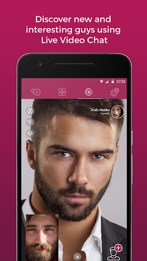 Lollipop - Gay Video Chat & Gay Dating for Men 3.4.37 (16.11.2017_2) screenshots 1