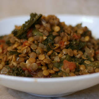 Lentil and Kale Super Food Slow Cooker.