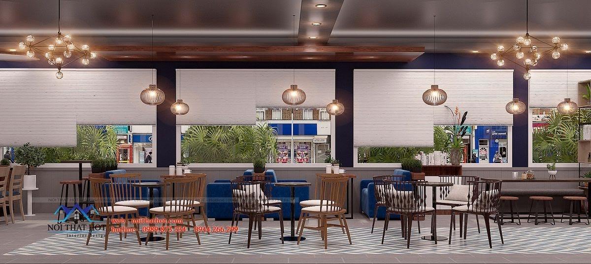 thiết kế quán trà sữa royal tea 7