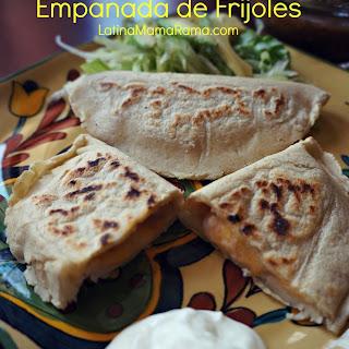 Empanada de Frijoles {bean empanadas}